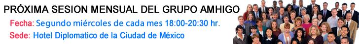 Sesión mensual de Grupo Amhigo
